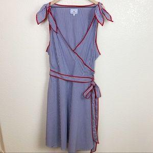 Eloquii Dresses - Eloquii x Draper James Striped Wrap Dress Size 24